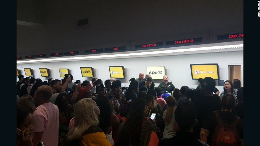 Spirit cancels flight, passenger brawl breaks out