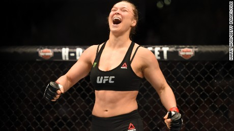 "UFC boss Dana White said: ""Women's mixed martial arts wouldn't exist right now if it wasn't for Ronda Rousey."""