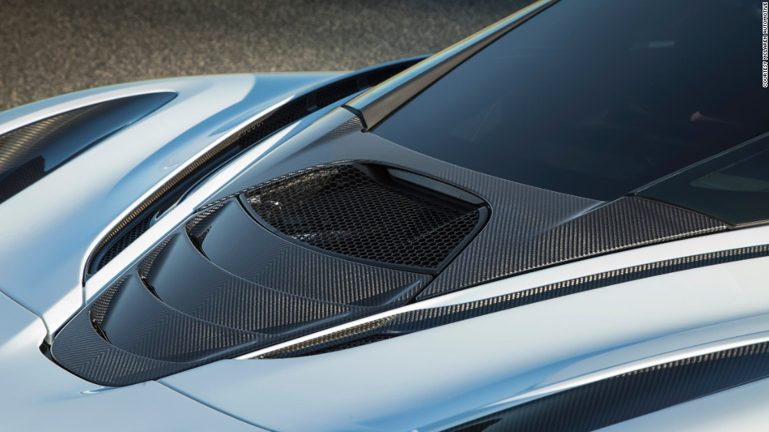 The 720S is built around a carbon fiber, beautifully incorporated into the design of both the exterior and interior of the car.