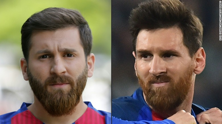 Meet the Iranian Messi doppleganger
