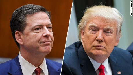 Trump fires FBI Director James Comey
