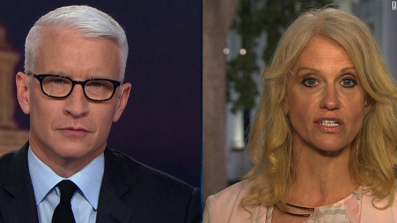 Anderson Cooper's Eye Roll at Kellyanne Conway Goes Viral