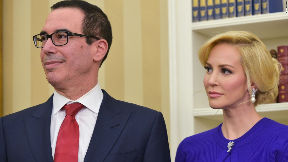 Trump and Pence to attend Treasury Secretary Mnuchin's wedding