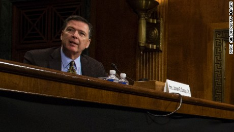 James Comey claims his moment at hearing