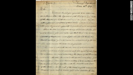 Letter dated October 4, 1789