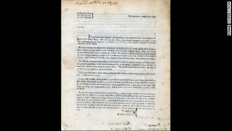 Letter dated August 4, 1793