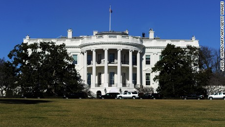 The White House is pictured on January 19, 2013 in Washington DC.