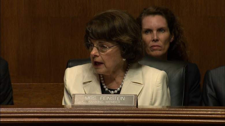 Feinstein 'incredulous' over Comey firing