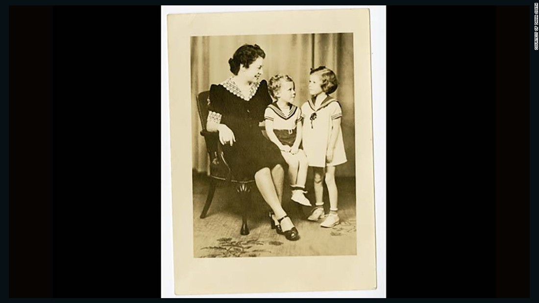 Kennedy was born in Sacramento, California, on July 23, 1936. In this photo, circa 1939, he sits between his mother, Gladys, and his sister, Nancy.