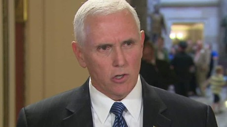 Pence: Confident new chief will restore FBI