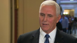 Pence defends firing Comey (Entire remarks)