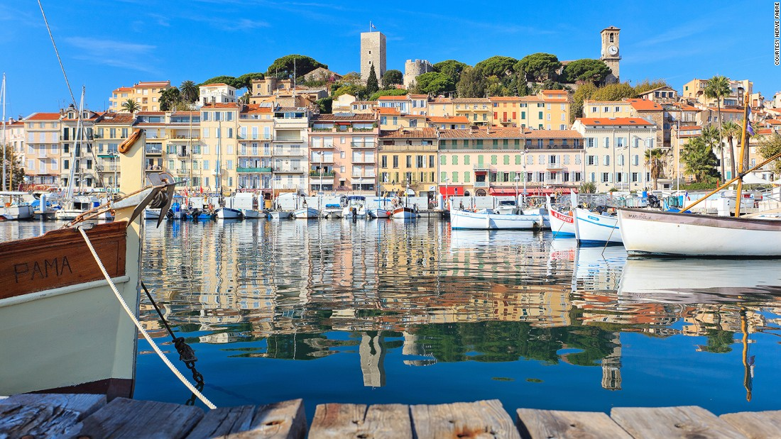 <strong>Guide to Cannes: </strong>Famous for its red-carpet events, this French Riviera city has turquoise waters, sandy beaches and old-town charm.