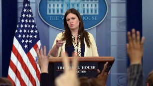 Comey committed 'atrocities,' Sarah Huckabee Sanders says