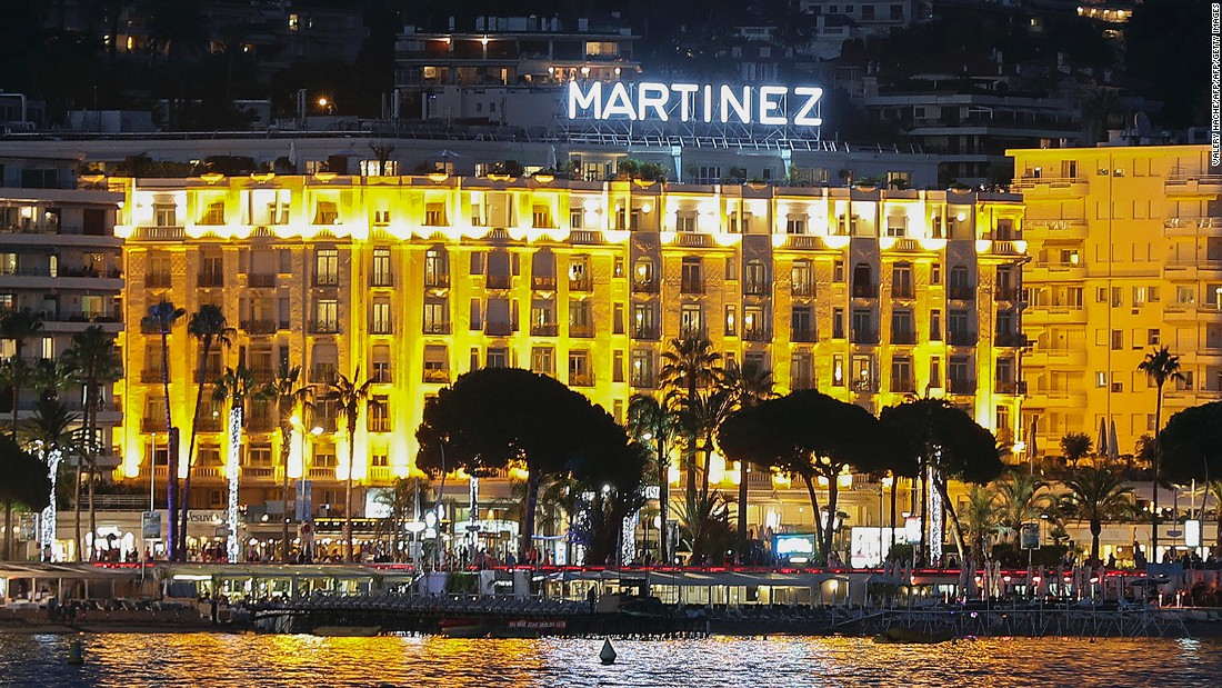 <strong>Stargazing spots: </strong>Intercontinental Carlton, the Martinez and Le Majestic are three of the grandest hotels in Cannes. The back entrances of these hotels are prime spots for celeb-spotting during the Cannes Film Festival.