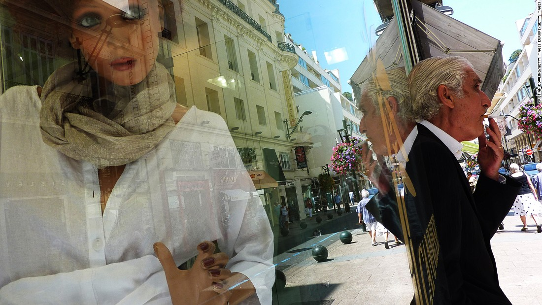 <strong>Shopping central: </strong>Rue d'Antibes is one of the best shopping streets in Cannes, featuring all the big designer brands.