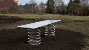 World's top designers reinvent the classic park bench