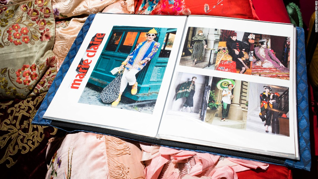 "Salamon was a favorite subject of the late street style photographer Bill Cunningham, and one of the star's of 2014's ""Advanced Style"" documentary."
