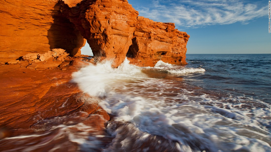 <strong>Darnley: </strong>For a close-up look at the island's wild coastal rock formations you'll want to head for Darnley's incredible Thunder Cove, about an hour's drive northwest from Charlottetown.