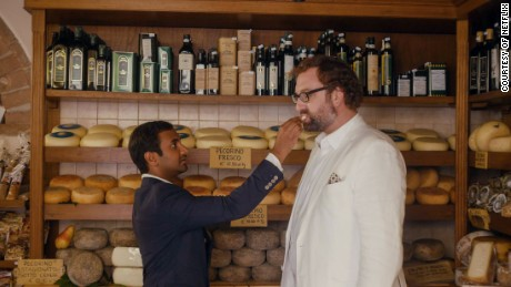 Aziz Ansari and Eric Wareheim in 'Master of None' Season 2.