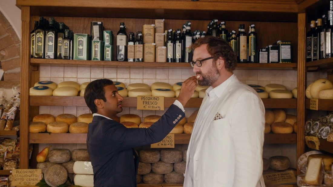 Aziz Ansari and Eric Wareheim star in 'Master of None.' The Netflix comedy earned eight Emmy nominations, including a nod for outstanding comedy.