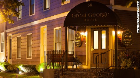 Charlottetown's Great George Hotel.