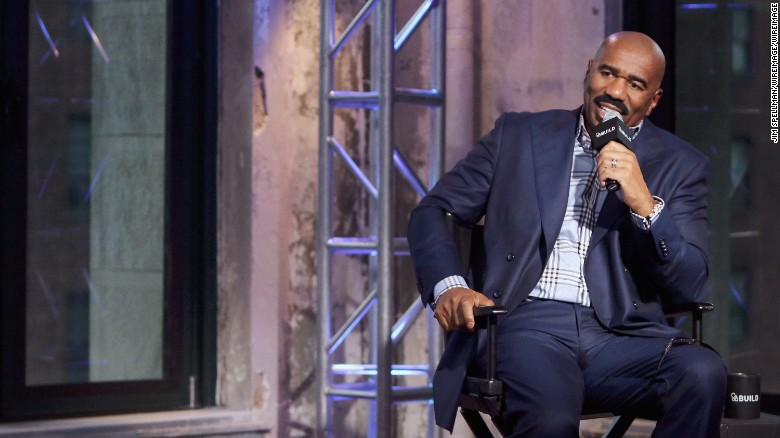 Steve Harvey to staff: Don't try to meet me