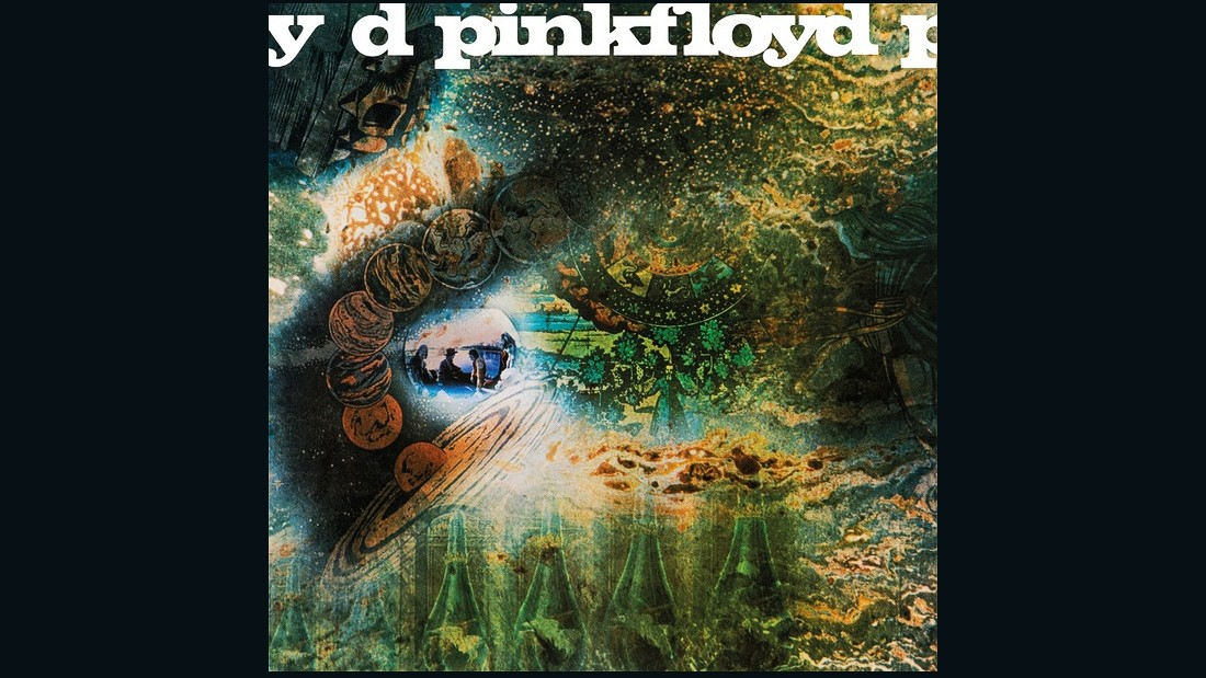 "Pink Floyd's second album ""A Saucerful of Secrets,"" released in 1968, is futuristic and hypnotic."