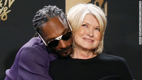 2017 MTV Movie and TV Awards â Photo Room â Los Angeles, U.S., 07/05/2017 â Snoop Dogg and Martha Stewart. REUTERS/Danny Moloshok     TPX IMAGES OF THE DAY (Newscom TagID: rtrleight758327.jpg) [Photo via Newscom]