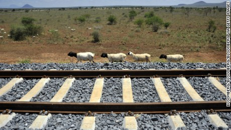 Kenya's new $3.8 billion railway