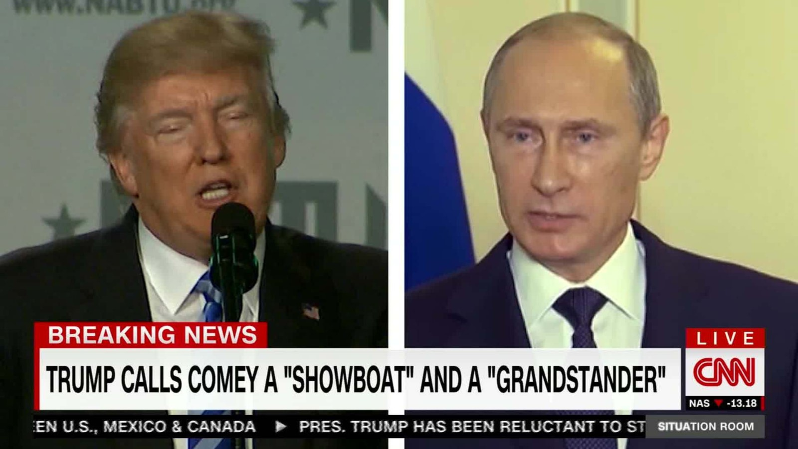 Trump And Putin To Meet In July Russian State Media Says . Cnn Situation  Room Live Stream ... Part 20