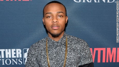 "Rapper Shad ""Bow Wow"" Moss arrives for an event in September 2015 in Las Vegas, Nevada."