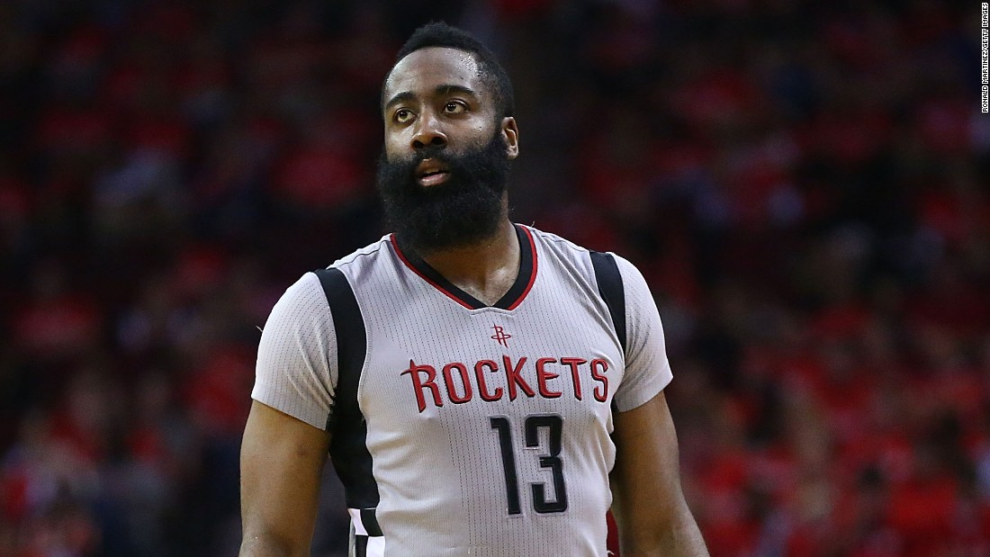 Since 1900, the name James has been in the top 20, but it hadn't cracked the top 10 since 1992. That changed in 2014, and it's in the fifth spot for 2016. It could have something to do with Houston Rockets point guard James Harden.