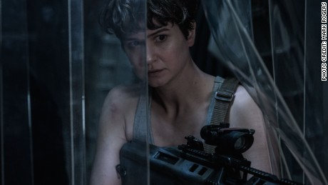 Katherine Waterston in 'Alien: Covenant'