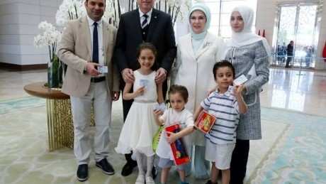 Bana Alabed, a Syrian refugee, was given a Turkish ID on May 12.
