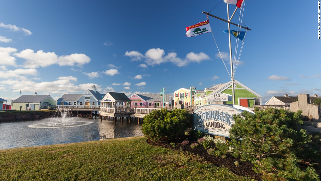 <strong>Spinnakers' Landing, Summerside: </strong>Sitting on the harbor in PEI's second biggest city, the Spinnakers complex offers a nice selection of gift shops and restaurants.