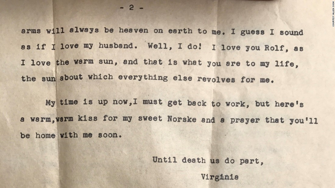 A Lost Love Letter Finds Its Recipient After  Years  Cnn