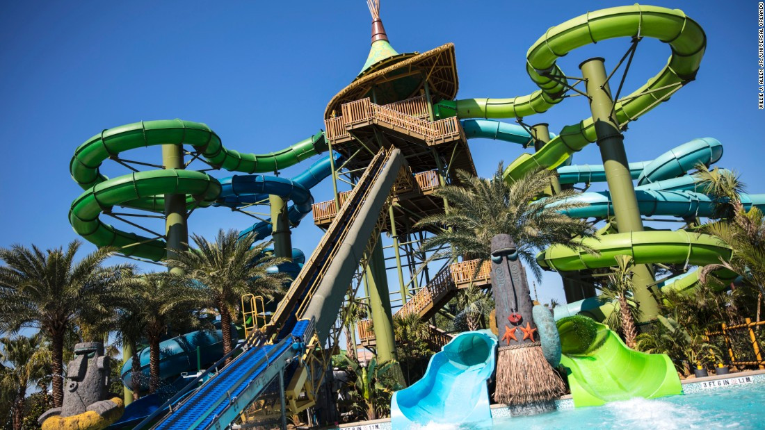 <strong>Taniwha Tubes:</strong> Beware of tiki statues that spray jets of water along these four twisty slides.