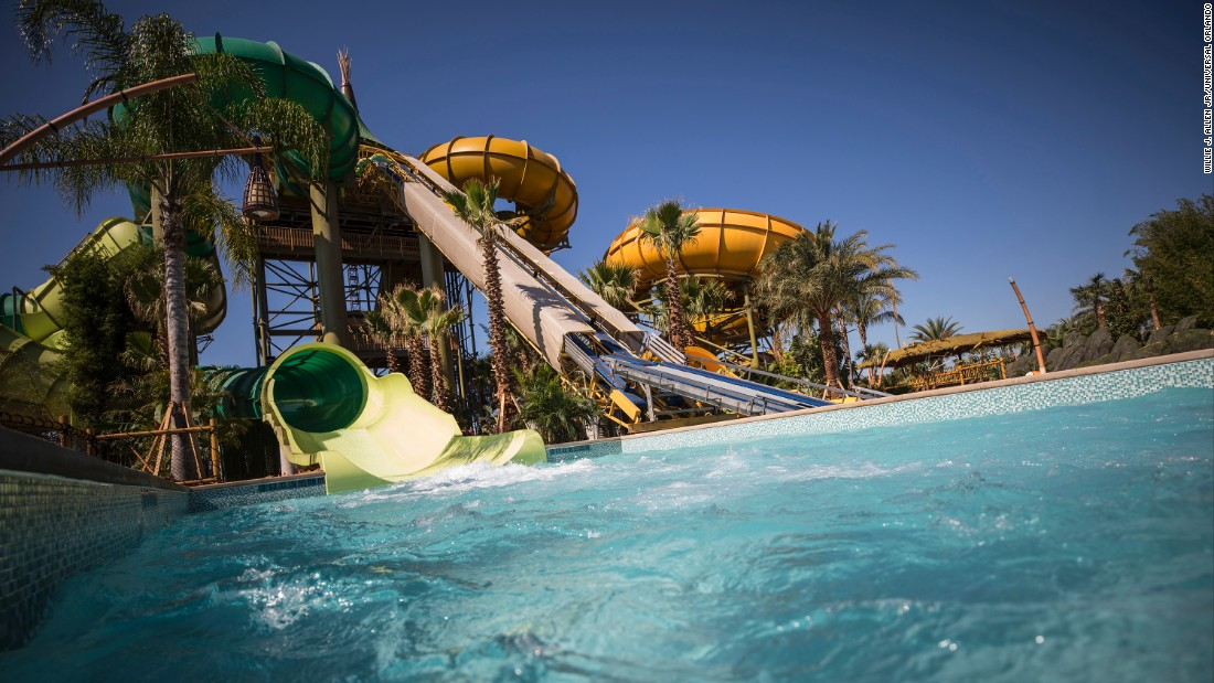 <strong>Maku and Puihi rides:</strong> In the Maori language, Maku and Puihi mean wet and wild, paying homage to the recently closed water park that Universal Orlando owned and operated.