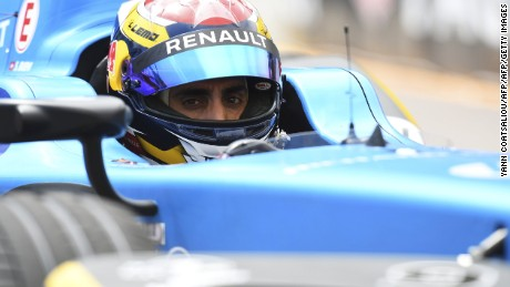 Renault's Sebastien Buemi claimed victory in the Formula E Grand PRix in Monaco after starting from pole position.