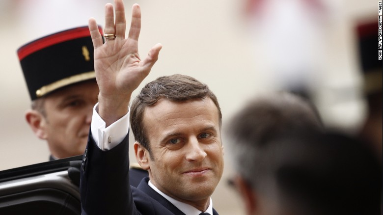Macron: The world needs a strong France