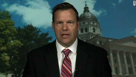 Kobach: Not trying to prove Trump's claims