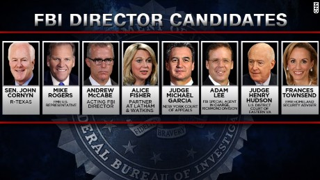 Who is being considered for top FBI post?