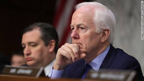 Sen. John Cornyn was top FBI choice for Trump