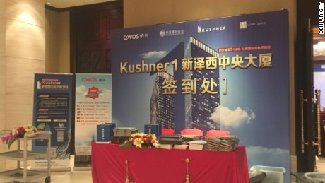 cnnmoney kushner investment shenzhen