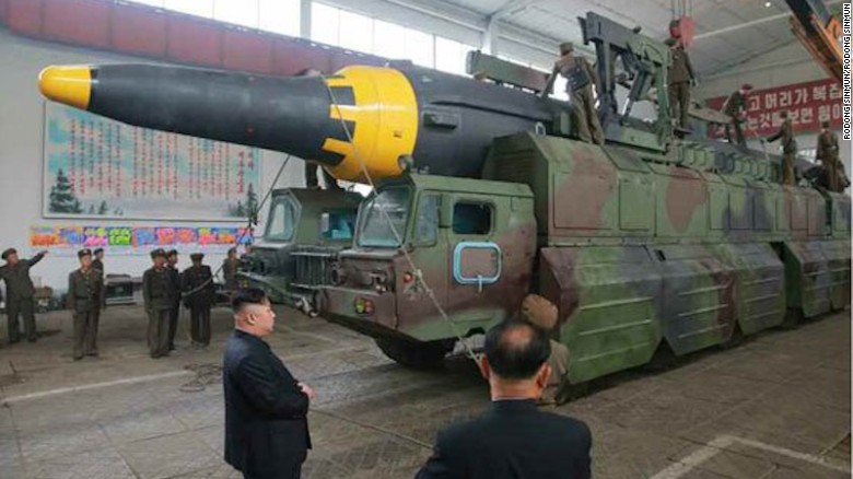 North Korea claims missile can strike US