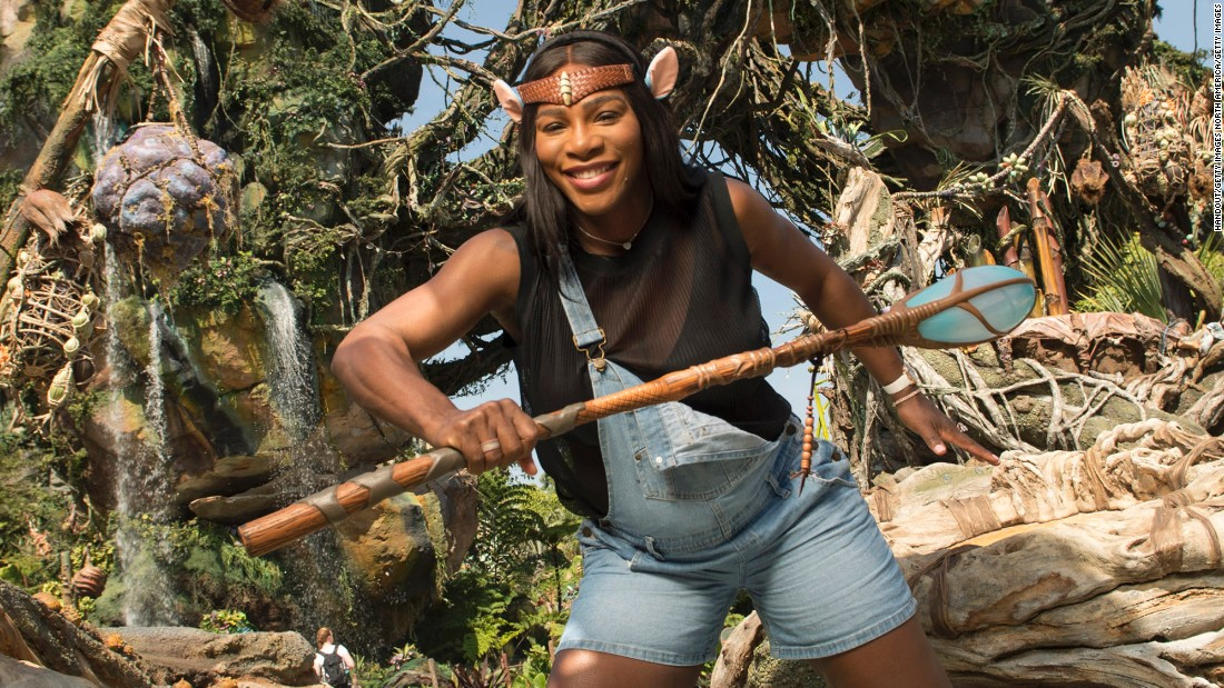 The American appears to be enjoying her time away from the Tour, channeling her inner Na'vi during a sneak peek at Pandora - The World of Avatar at Disney's Animal Kingdom.
