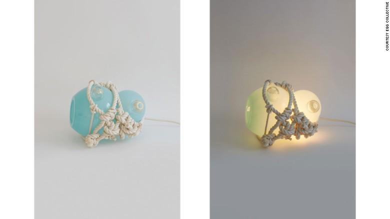 """Large Knotty Bubbles Pendant"" by Lindsey Adelman"