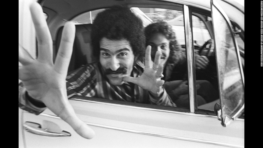"In 1970, photography student Mike Mandel went out to a busy intersection in Los Angeles and started taking pictures of people as they waited at a red light. The images are fascinating to look at nearly 50 years later -- not only for the outdated styles and cars, but also for the reactions. ""It was a different time where most people would not react in an aggressive way,"" Mandel said. ""They wouldn't feel immediately that this was an invasion of privacy and that this is wrong. Most people reacted like, 'This is really surprising and this is actually kind of funny.' """