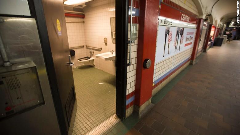 Large Public Bathroom
