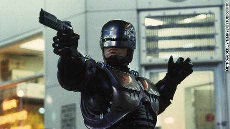"""RoboCop"" (1987). The titular cyborg's remit was to ""Serve the public, protect the innocent and uphold the law."" In Paul Verhoeven's film, members of the Detroit Police Department go on strike due to RoboCop, fearing for their future employment."